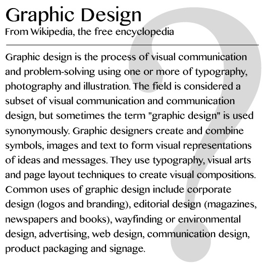 What do graphic designers do 1 graphic design